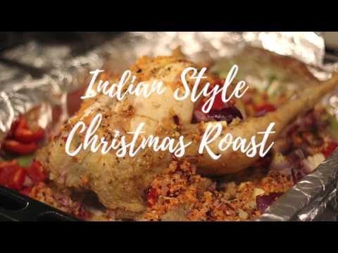 Chicken Roast Indian Style | Christmas Recipes