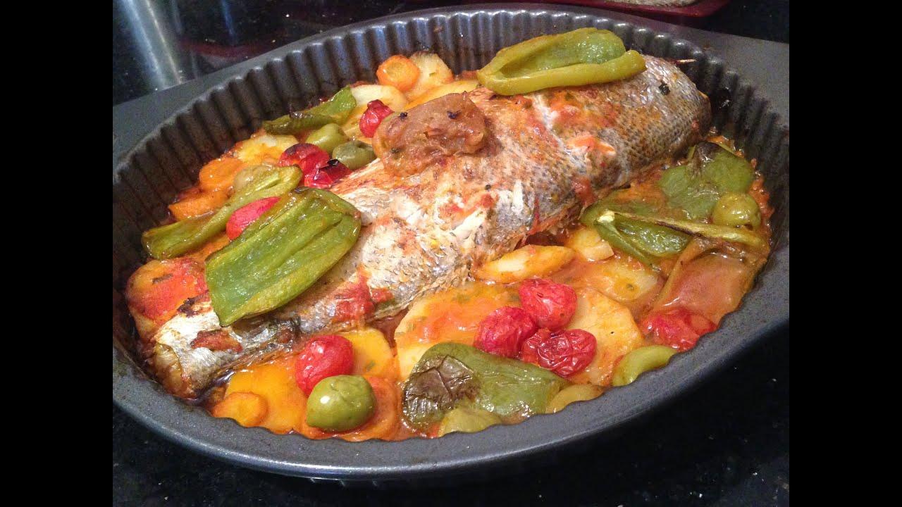 Cuisine marocaine poisson au four - Cuisine poisson facile ...