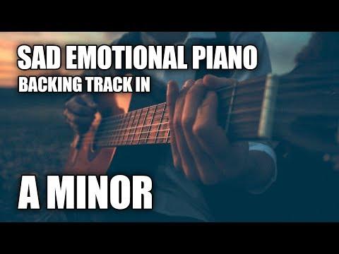Sad Emotional Piano Strings Instrumental In A Minor