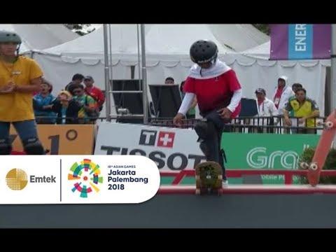 Highlight Skateboard Nomor Women's Park | Asian Games 2018