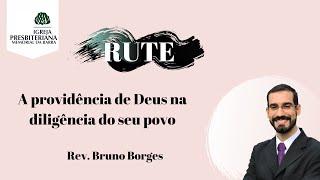 A providência de Deus na diligência do seu povo - Rute 2 | Rev. Bruno Borges