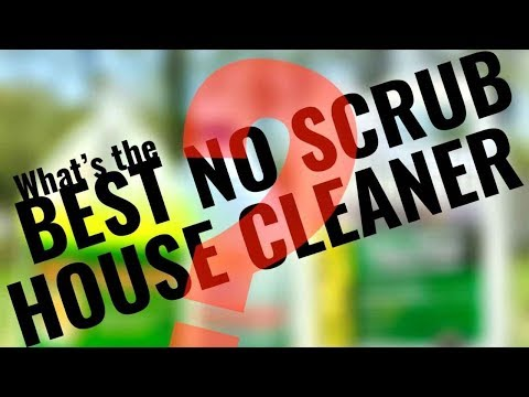 Vinyl Siding & House Washing Review * Best Mold Algae Cleaner? * House Wash Spray Cleaners