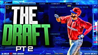 MLB 15 Road to The Show - EP 5 - DRAFT DAY INCEPTION! HIT THE FREAKING BALL!