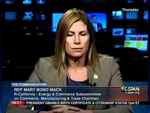 The Communicators: Rep. Mary Bono Mack (R-CA)