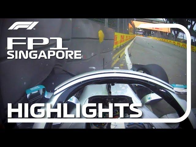 2019 Singapore Grand Prix: FP1 Highlights