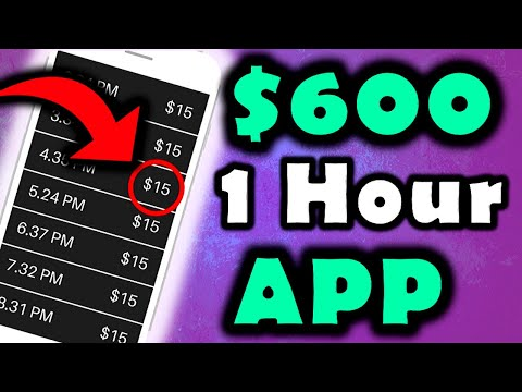 This App Pays You $600.00+ Per HOUR for FREE! (NEW RELEASE!) – Make Money Online FAST!