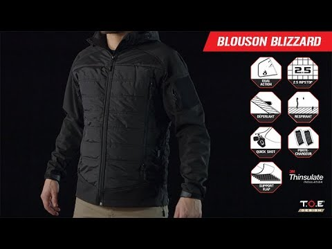 Blouson Blizzard Toe Noir