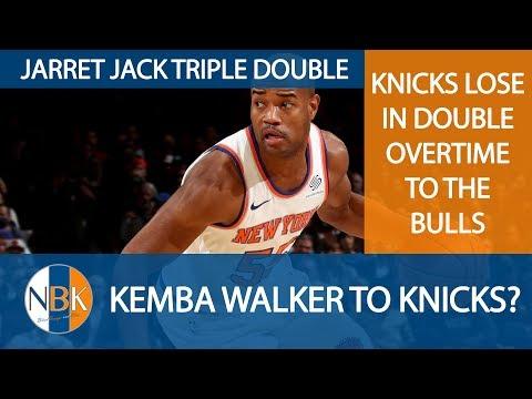 New York Knicks Live Postgame Discussion: Knicks lose in 2OT; Kemba Walker to Knicks?; NYK vs. MIN