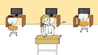 Случай на уроке информатики | Анимация