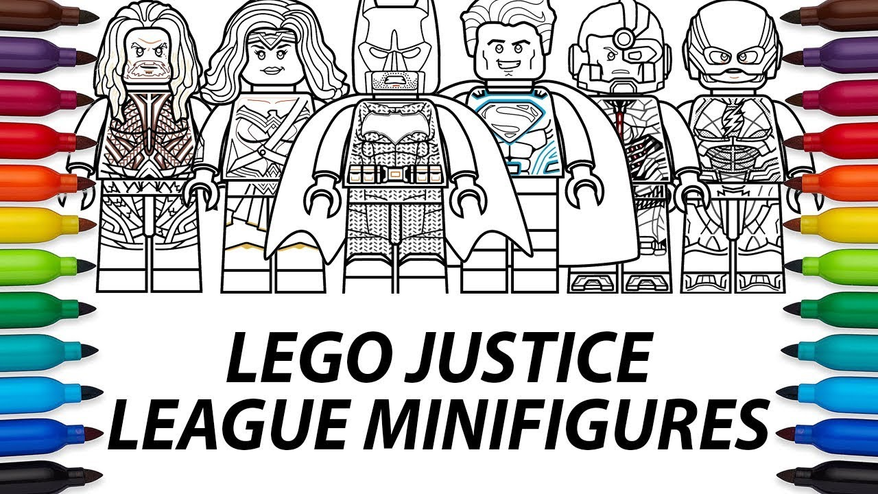 justice league doom coloring pages - photo#48