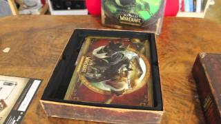Unboxing: Mists of Pandaria Collector Edition (World of Warcraft datadisk)