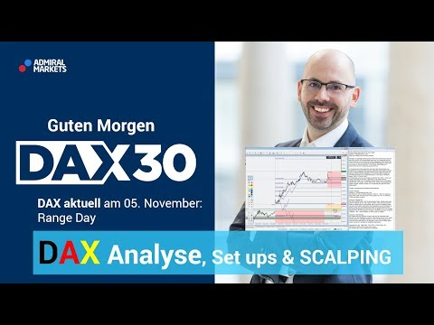 DAX aktuell: Analyse, Trading-Ideen & Scalping | DAX 30 | CFD Trading | DAX Analyse | 05.11.19