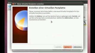 Linux Ubuntu 11.04 Installation Deutsch von Virtualbox OSE Oracle VM Virtualbox installieren