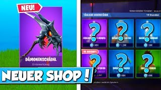 "😍NEU! Battle-Pass ""DÄMONENSCHÄDEL"" Item im SHOP!🛒 Daily Fortnite Item Shop 8.4.2019"