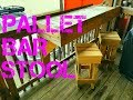 DO IT YOURSELF PALLET BAR STOOL