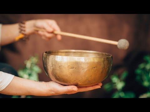 432 Hz Pure Music: Tibetan Bowls⎪Advanced Slow Drums Design and Water Sound