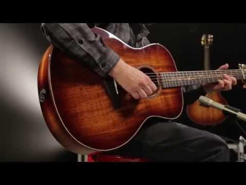 Taylor K26e Grand Symphony ES2 Acoustic Electric Guitar Shaded Edgeburst