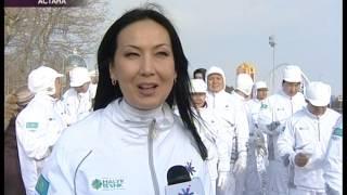 Gambar cover Программа Апта.кз. Сюжет о факельном шествии Зимней Азиады 2011 года.