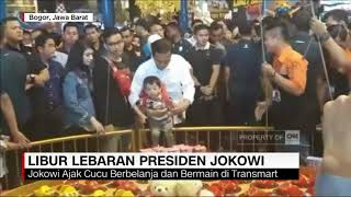 Video Presiden Jokowi Liburan Lebaran Bareng Cucunya Jan Ethes di Transmart download MP3, 3GP, MP4, WEBM, AVI, FLV Juni 2018