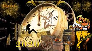 """🍺HAPPY NEW YEAR& 39 S """" COUNTRY STYLE"""" 🍺2020 CLOCK COUNTDOWN"""