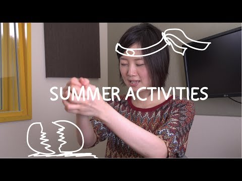 Weekly Japanese Words with Risa - Summer Activities (Việt Sub)