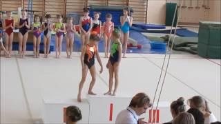 Соревнования по спортивной гимнастике в Лисках