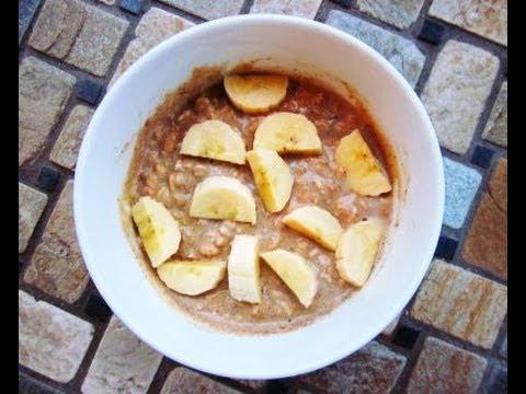 Image result for oatmeal dengan banana pure