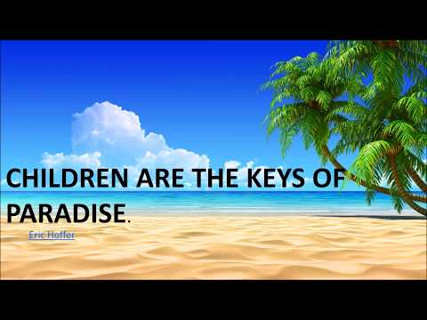 Inspirational Quotes About Children: I For Parents & Teachers