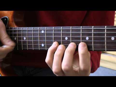 Cours de guitare - Metallica: solo de Enter Sandman (8/8) Parties C3 et C4
