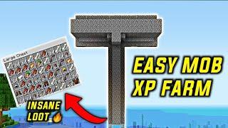 Minecraft - EASY MOB XP FARM TUTORIAL | 100% Working (1.15+)