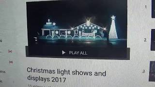 IT HAS BEGUN Christmas light shows and displays 2018