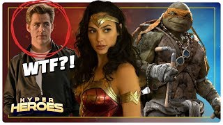 Wonder Woman 1984 Begins Filming, First Look at Aquaman, New TMNT Movie and more!