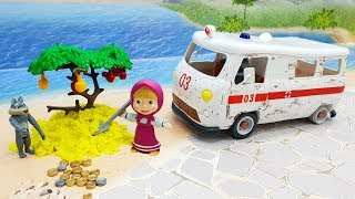 Видео с игрушками для детей про Машу и Монетное дерево! мультики для детей