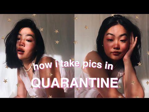 How I Take Pictures By Myself! *quarantine Edition*