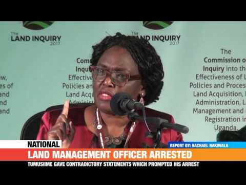 #PMLive: LAND MANAGEMENT OFFICER ARRESTED