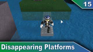 [15] Disappearing Platforms - Roblox Scripting Tutorials