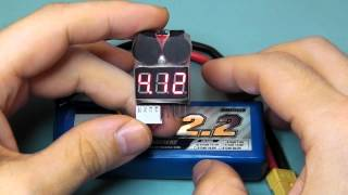 2in1 LiPo Battery Low Voltage Tester