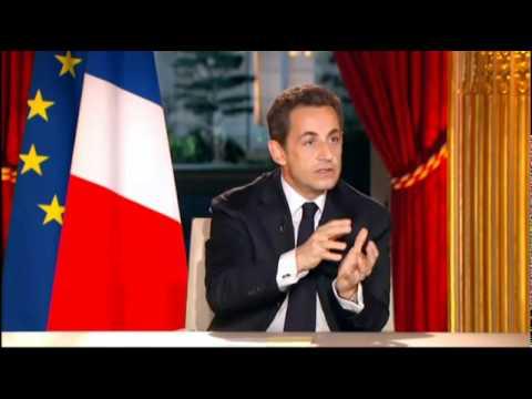 Interview télévisée de Nicolas Sarkozy en intégralité