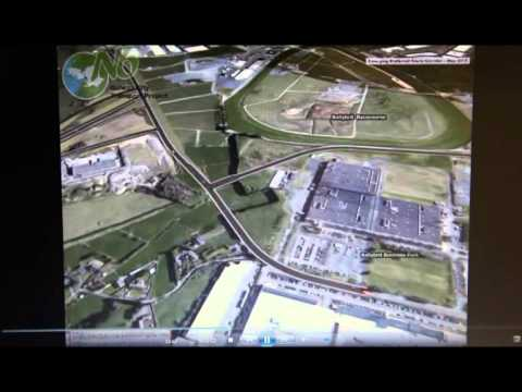 N6 Galway City Transport 3D Road Video
