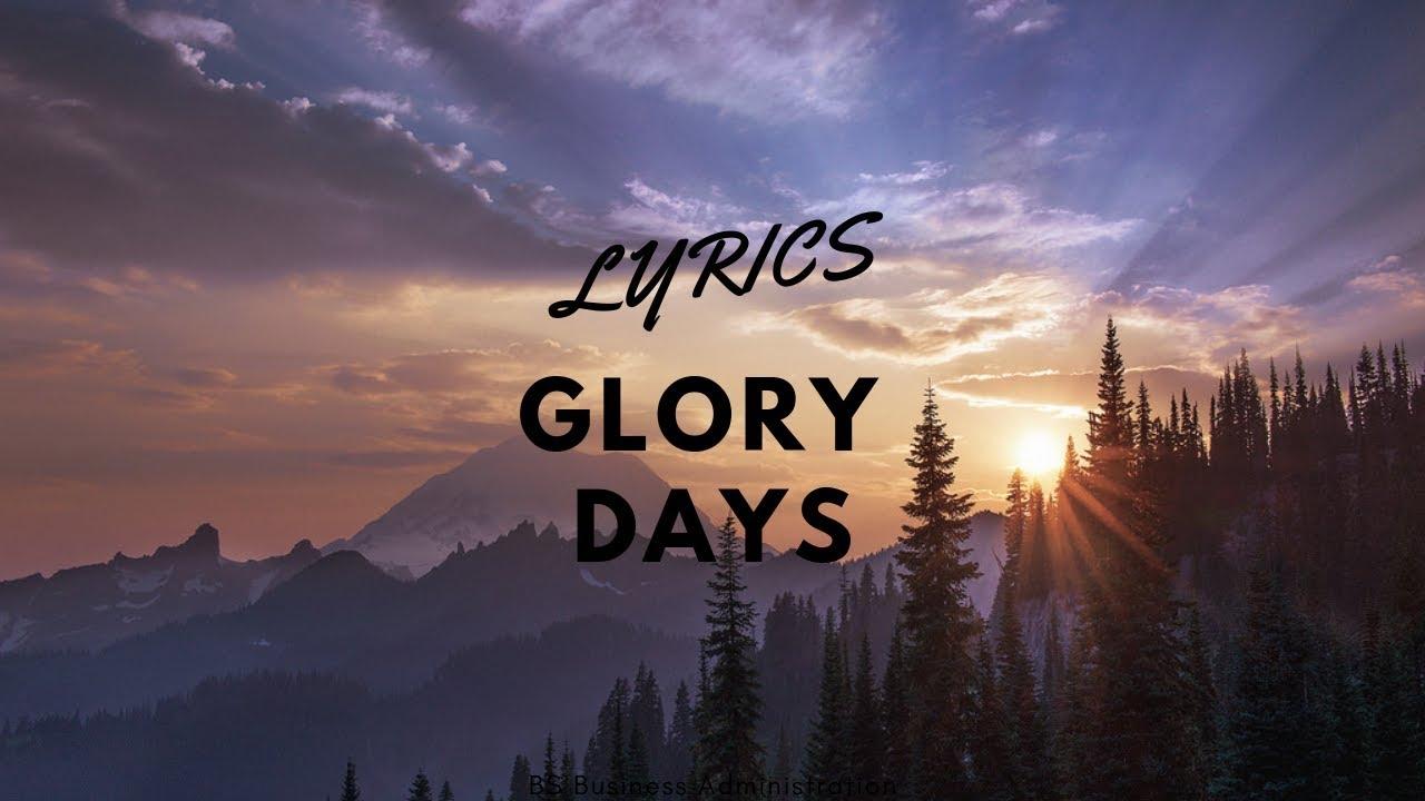 Download Glory Days Lyrics - Bruce Springsteen
