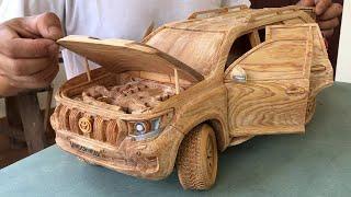 Резьба по дереву - TOYOTA PRADO Land Cruiser 2020 (новая модель) - Искусство деревообработки