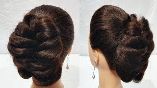 Latest Simple Hairstyle For party  || hair style girl || cute hairstyles || hairstyle for girls