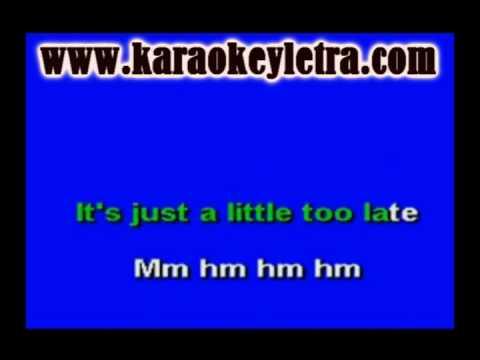 jojo - too little too late karaoke