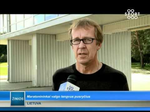 SPORT1: Europos čempionės Ž. Balčiūnaitės treneris maratonininkams riboja maisto pasirinkimą