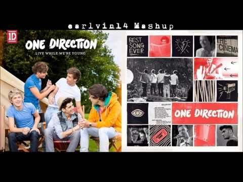 Live While Were Young vs Best Song Ever -  Mashup - One Direction