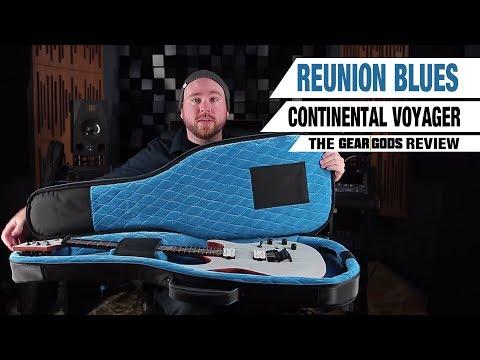 REUNION BLUES Continental Voyager Guitar Case - The Gear Gods Review  | GEAR GODS