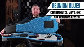 REUNION BLUES Continental Voyager Guitar Case - The Gear Gods Review | GEAR GODS