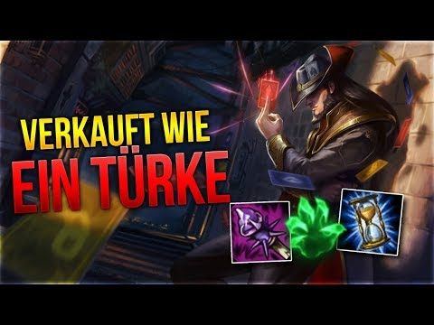 VERKAUFT WIE EIN TÜRKE! Twisted Fate Midlane [League of Legends] [Deutsch / German]