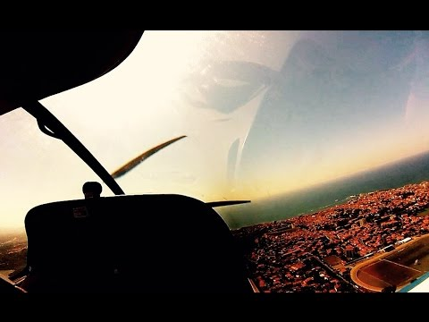 Flying the DR500 - Biarritz, France