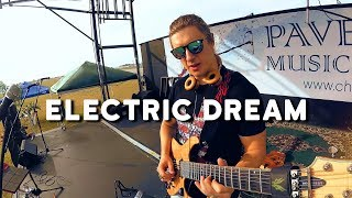 Download lagu Electric Dream - electronic cyberpunk music live